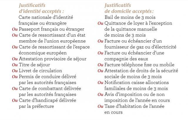 Haut de page imprimer - Credit carrefour pieces justificatives ...