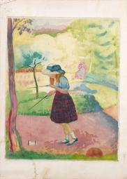 HENRI LEBASQUE ( 1865-1937 )